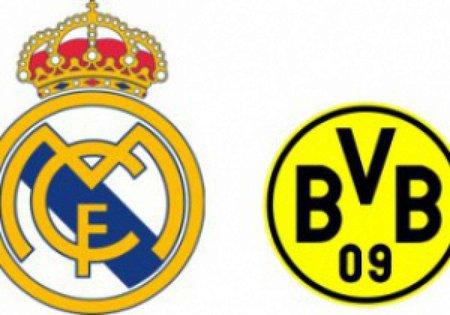 Сьогодні «Реал» та «Боруссія» зіграють у Лізі Чемпіонів