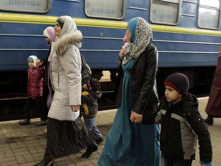 Кримчанам на Львівщині допомагають з-за кордону