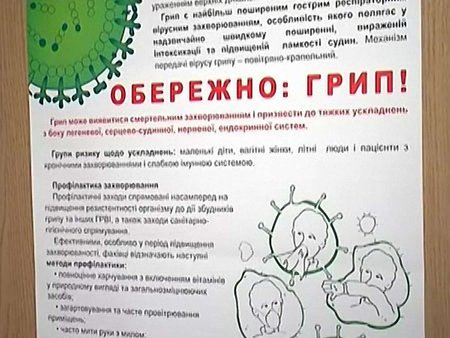 На Рівненщині від грипу померла семирічна дитина