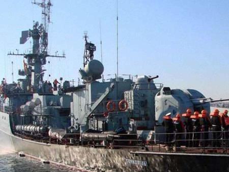 Україна хоче повернути 70 кораблів і корвет «Тернопіль»