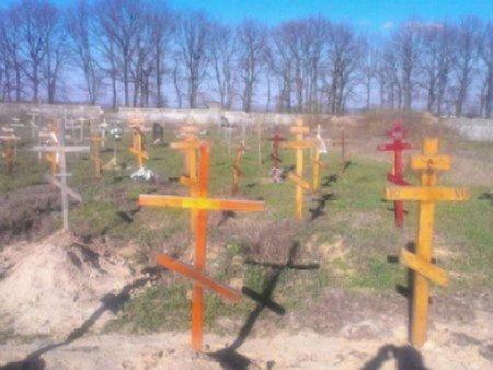 Поблизу Києва виявили десятки підозрілих безіменних могил
