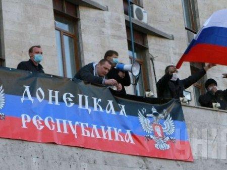 Сепаратисти в Донецьку: Референдум буде, Таруту – у відставку