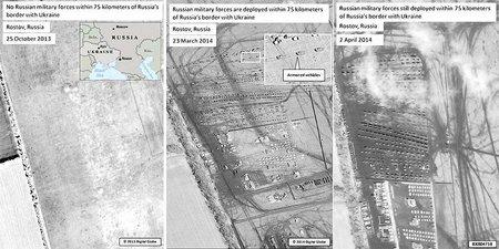 Росія і не думає відводити свої війська - Фотофакт