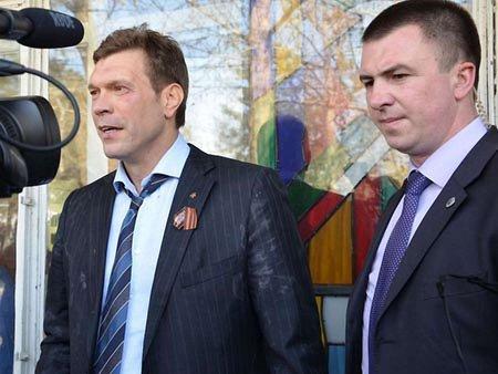 У Миколаєві Олега Царьова закидали яйцями