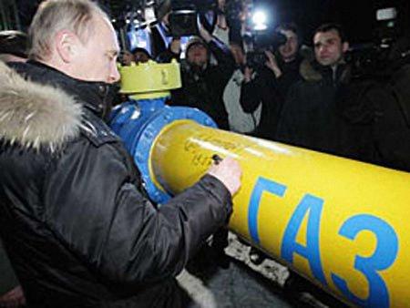 Путін сказав, як Росія постачатиме газ в Україну