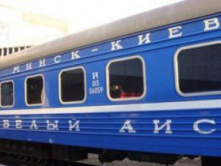 Білорусь призупинить продаж квитків на потяги в Україну
