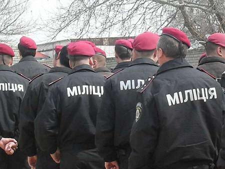 Міліція Луганщини створює спецпідрозділ «Схід»