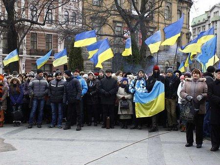 Львівський Майдан вирішив боротися проти окупації України