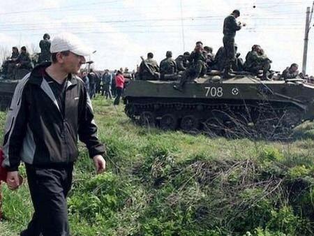 На Донеччині диверсанти захопили українську бронетехніку