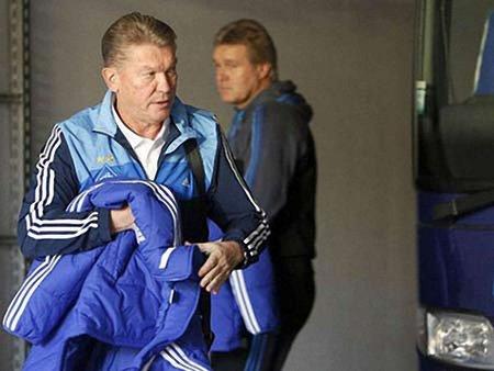 Блохін подав у відставку з посади тренера «Динамо»