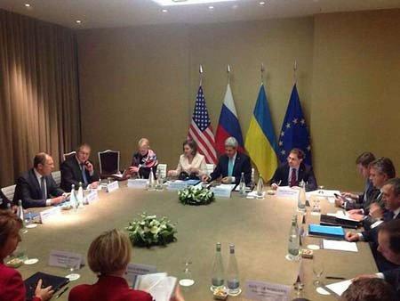 У Женеві розпочалися переговори щодо ситуації в Україні