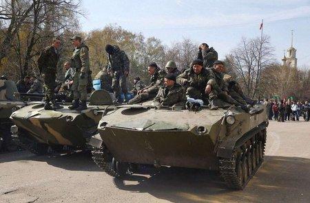 Десантники повернули дві захоплені у Краматорську БМД