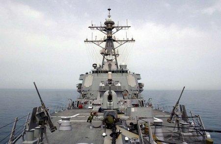 Есмінець ВМС США продовжує навчання у Чорному морі