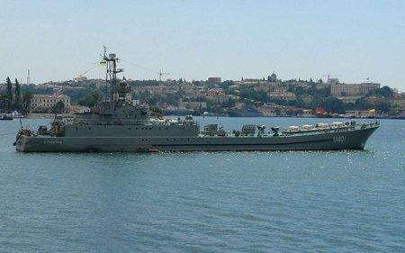 Українські кораблі вийшли з бухти Донузлав і прямують до Одеси