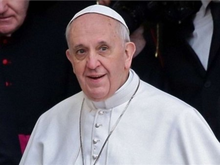 Папа Римський побажав Україні примирення та єдності