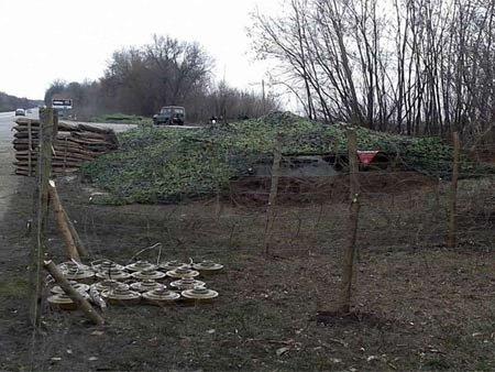 На Донеччині бойовики обстріляли українських десантників