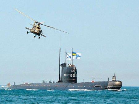Росія залишить собі підводний човен «Запоріжжя»