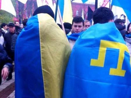 Кримські татари проти пам'ятника солдату РФ у Бахчисараї