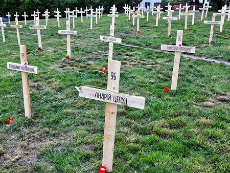 У Празі з'явився меморіал героїв Небесної сотні