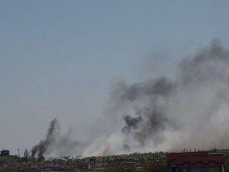 У Слов'янську з гранатометів обстріляли базу «Альфи» та «Омеги»