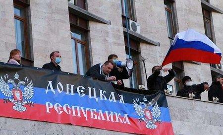 У Слов'янську готують референдум про незалежність Донбасу