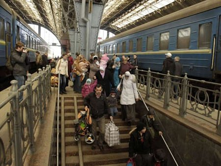 Львівщина вже прийняла півтори тисячі біженців з Криму