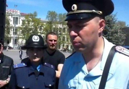 У Севастополі російська поліція вже не дозволяє мирні зібрання (відео)