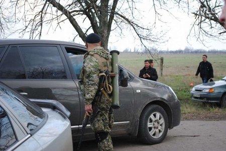 Українські вояки розблокували два блокпости в районі Слов'янська