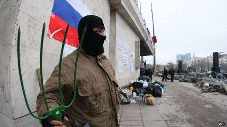 Диверсанти прибрали до рук податкову та митницю Донецька