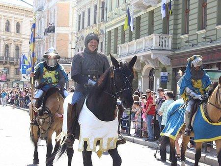 Львовом пройде святковий парад до Дня міста