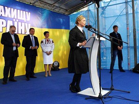 Міноборони і СБУ очолювали російські спецслужбовці, – Тимошенко