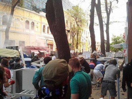 Міліція: Кількість загиблих у сутичках в Одесі зросла до трьох