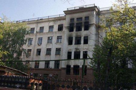 МВС оприлюднило головну версію пожежі у Будинку профспілок в Одесі (відео)