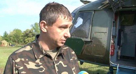 Пілот розповів про інцидент з вертольотами у Слов'янську (відео)