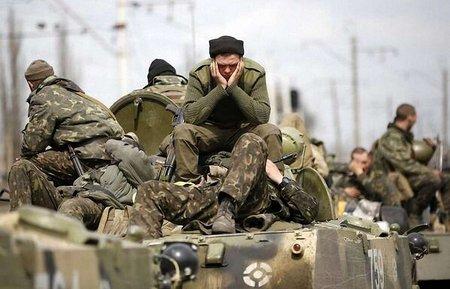 Турчинов-Меркель: АТО повільна, бо сепаратисти прикриваються жінками