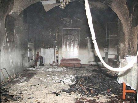 Рецидивіст з Донбасу спалив дві церкви на Тернопільщині