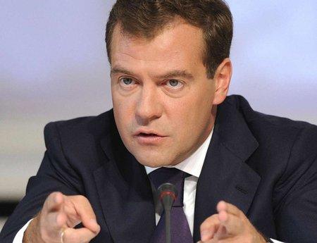 РФ готова переглянути ціни та умови поставки газу Україні, - Медведєв