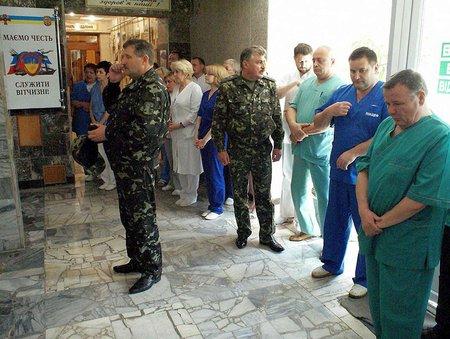 Львівські військові лікарі рушили на схід рятувати силовиків АТО