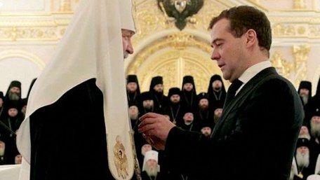 Медведєв назвав дивом темпи  відродження православ'я в Росії