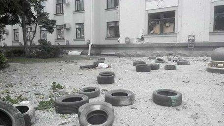 У приміщенні Луганської ОДА стався вибух