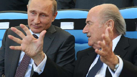 Президент ФІФА не скасує ЧС-2018 у Росії, бо будуватиме російські стадіони