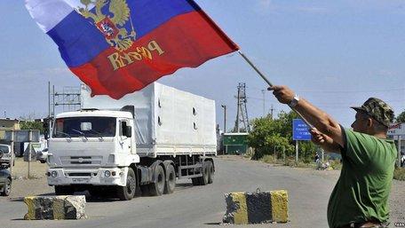 Після Великодня на Донбас поїде 24-й путінський «гумконвой»