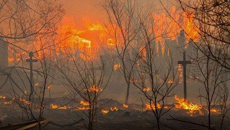 Пожежа в Хакасії не вщухає - вогонь охопив 46 населених пунктів