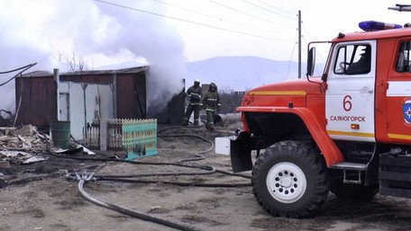У МНС РФ заявили про повну ліквідацію пожеж у Хакасії