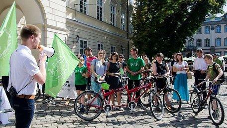 У Львові стартував всеукраїнський велопробіг за участі незрячих