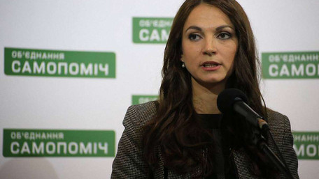 Усупереч рішенню «Самопомочі» Гопко проголосувала за Конституцію