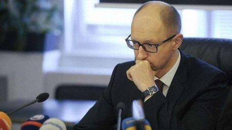 Майже 67% українців негативно оцінили діяльність Арсенія Яценюка, - соцопитування