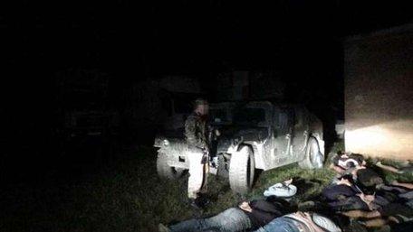 СБУ затримала 21 вантажівку з продуктами, які їхали до проросійських бойовиків