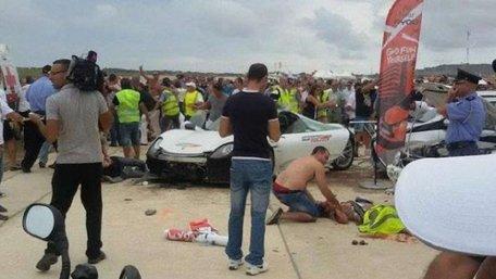 На Мальті під час шоу автомобіль влетів у натовп глядачів
