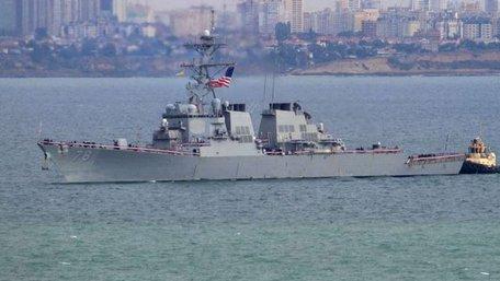 Американський есмінець «Porter» прибув до Одеси